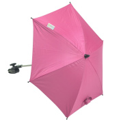 For-Your-little-One Parasol Compatible with Mothercare Jive Stroller, Hot Pink