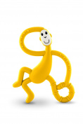 Matchstick Monkey Dancing Monkey Teething Toy (Teether) - Yellow