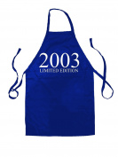 Limited Edition 2003 - Unisex Adult Fit Apron - 5 Colours - 15th Birthday