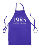 Limited Edition 1985 - Unisex Adult Fit Apron - 5 Colours - 33rd Birthday