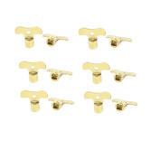 Kitchen Bathroom Sink Water Tap Knob Switch Inner Square Hole Faucet Key 12 Pcs