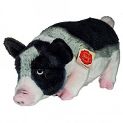 Teddy Hermann 930334 Pig Soft Toy, 33 cm