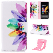 Case for Huawei Honour 7X, Huawei Honour 7X Leather Cover, Ekakashop Fashion Design and Stylish Drawing Bookstyle Wallet Flip Folio PU Leather Ultra Slim Thin Soft Silicone Full body Protective Case Cover for Huawei Honour 7X with Ekakashop Kickstand ( ..