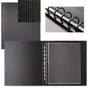 START PREMIUM 14x17 multi ring binder w/10 Polyester Sheet Protectors by PRAT Paris - 14x17