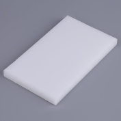 White PVC Cutting Board, DIY Leathercraft Plastic Cutting Sheet, Profesional Cutting Mat Punching Stamping Tool 20cm × 12cm for Rubber Mallet