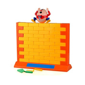 Humpty Dumpty's Wall Game,Classic Puzzle Wall Games 3D Cartoon Mr. Egg Plastic Wall Game Family Fun Game