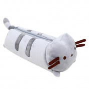 Pencil Case, Coofit Cute Cartoon Plush Cat Pencil Case Pen Bag Stationery Case