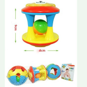 3Pcs /Set Baby Musical Bell Early Educational Plastic Ball Rattles Gift