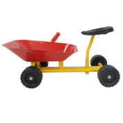 Yellow Carbon Steel + Plastic Kid Ride-on With Ebook