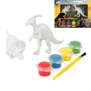 DIY Colouring Painting Animal Model, Sacow Colouring Dinosaur Toys Drawing Graffiti Toys