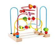 Wooden Fruit Circle Bead Maze for Early Educational Development