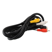 Cewaal 1.8m AV TV S-Video Gaming Cable For Nintendo Gamecube 64 NGC N64