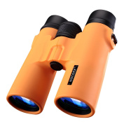 NOCOEX® 8X42 HD Binoculars - Military Telescope for Hunting and Travel - Compact Folding Size - High Clear Large Vision - Orange