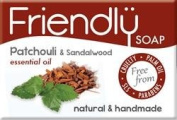 Natural Patchouli & Sandalwood Soap by Friendly Soap