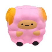 JoyJay Exquisite Colossal Squeeze Stress Reliever Soft Cartoon Sheep Doll Scented Slow Rising Toys Gift