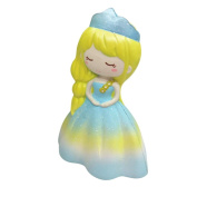 JoyJay Exquisite Colossal Squeeze Stress Reliever Soft Cartoon Wedding Girl Doll Scented Slow Rising Toys Gift