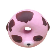 Animal Doughnut Squishy Toy, Hmeng Creative Stress Reliever Super Slow Rising Lovely Colourful Doughnut Scented Cream Scented Soft Squeeze Toy