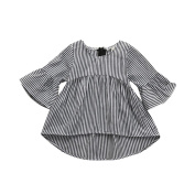 Xshuai For 0-24 Months Kids, Fashion Cute Toddler Newborn Infant Toddler Baby Girls Clothes Stripe Princess Tops Outfits Dress