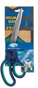 CENTRUM 250 mm Rubber Insert Scissor - Green