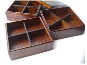 GuiXinWeiHeng 3 layer lunch box sushi wooden box food lunch box wooden lunch box