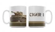 Tiger 1 Tank, Military Themed Design, 300ml Ceramic Mug