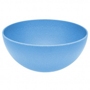 Magu Shell Natur 10cm, Bamboo-fibre, Blue, 9 x 12 x 16 cm
