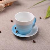 ZPSPZ Ceramic Creative Couple Bone China Mug Milk Cup