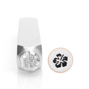 Hibiscus Design Stamp, 6mm
