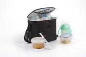 Baby Polar Gear Go Anywhere Bottle & Food Bag Black