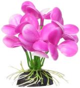 Marina Betta Pink Orchid Aquarium Plastic Plant, 7cm
