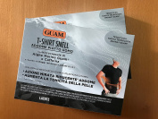 GUAM - T-SHIRT SNELL MAN black with microcapsules Algae Marine and Caffeine - Black, L/XL
