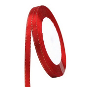 RainBabe Red Polyester Wrapping Ribbons for Wedding Balloon Holiday Supplies 22M