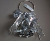 Hallmark Silver Bells & Ribbon Door Decoration