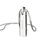 Fitbit Flex 2 Pendant , Unique Metal Necklace Luxury Pendant Magnetic Holder Replacement Chain For Fitbit Flex 2 Band