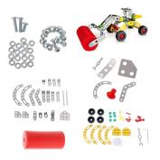 EA-STONE 3D DIY Alloy Model Car Building Set - Road Roller ,Metal Car Building Blocks Construction Assembling Model Toy For Kids
