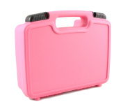 CASEMATIX Fun Pink Toy Box Case - Carry Learning Resources Gears! Gears! Gears! Building Set - Fits Gears , Base Plates , Pillars , Axles