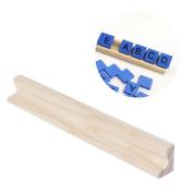 Misright Wooden Alphabet English Letters Bricks Jigsaw Blocks Kids Educational Puzzle Toy