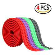 4x Block Tape for Lego Bricks