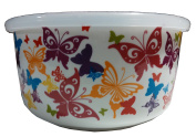 Ciroa Microwaveme Fine Porcelain Microwave Bowl with Silicone Seal Lid 17cm