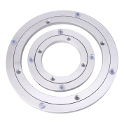 Heavy Duty Aluminium Alloy Rotating Bearing Turntable Round Dining Table Smooth Swivel Plate