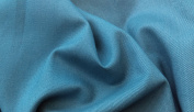 Plain Air Force Blue Cotton Twill Fabric - New off the roll - per metre