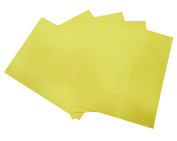 PEEGLI Handmade Plain Yellow Envelope Cover 20 Pcs of Paper Envelope Bag