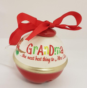 Ceramic Bauble - Grandma...The next best thing to Mrs. Claus