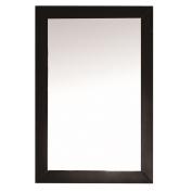 Eviva Acclaim Transitional Espresso Bathroom Vanity Mirror