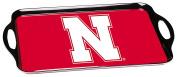 BSI Nebraska Cornhuskers Melamine Serving Tray, Red, One Size