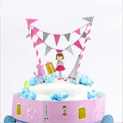 Doyeemei Cake Toppers Happy Birthday Party Cake Decorations for Kids Baby