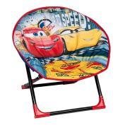 Cars Lightning McQueen Folding Moon Chair - Indoor and Outdoor use