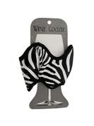 Kole Imports HG888 Zebra Print Wine Coozie