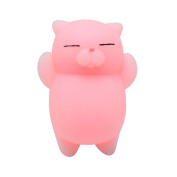 Cute Mochi Cat Squishy Squeeze Toys,Stress Reliever Toys,Squishies Slow Rising Soft Baby Toys VNEIRW