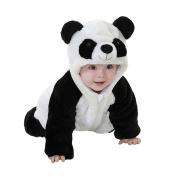Livecity Panda Costume Infant Toddler Jumpsuit Romper Warm Baby Boy Girl